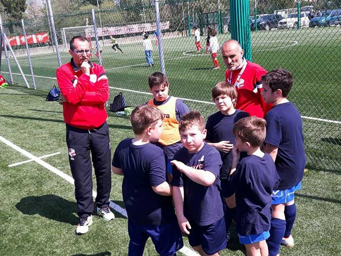 scuola calcio Promotennis